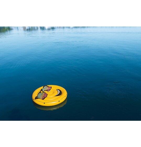 אי מתנפח סמיילי במים