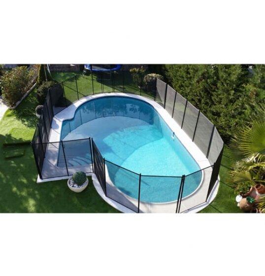 גדר בטיחות לבריכה ביתית 5 מ' צילום למעלה
