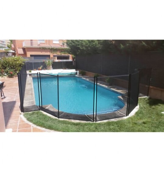 גדר בטיחות לבריכה ביתית 5 מ' צילום צד